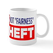 Redistribution-is-theft Small Mug