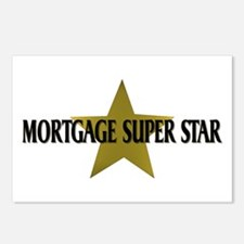 Mortgage SuperStar Postcards (Package of 8)