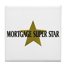 Mortgage SuperStar Tile Coaster