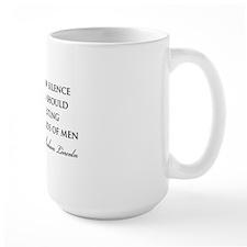 Lincoln-cowards-of-men-(white) Mug