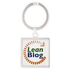 leanblog-logo-square3-300.gif Square Keychain