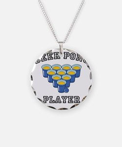 Beer Pong Player Necklace