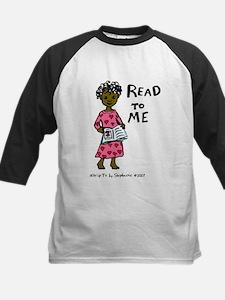 Read To Me 3 Kids Baseball Jersey