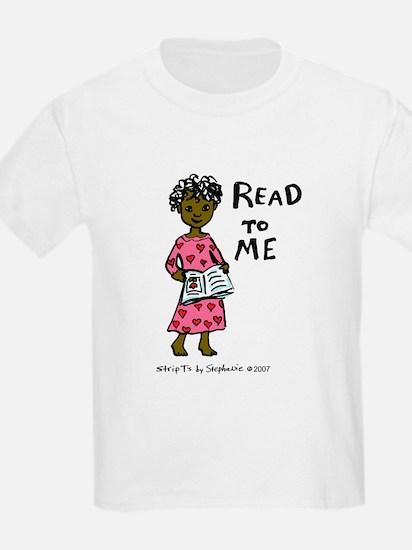 Read To Me 3 Kids T-Shirt