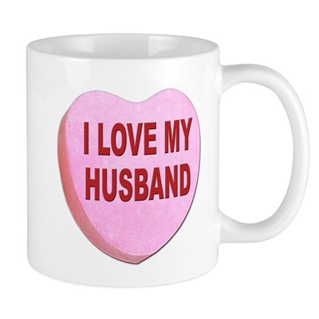 I Love My Husband Valentine Mug