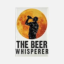 The Beer Whisperer Rectangle Magnet