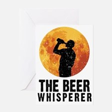 The Beer Whisperer Greeting Card