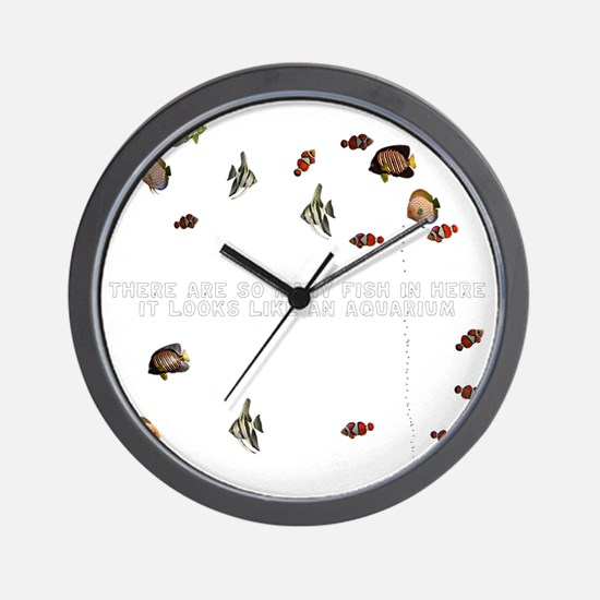 T0030B-Aquarium-2000x2000 Wall Clock
