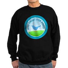 btn-tweet-for-food Sweatshirt