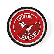 btn-twitter-quitter Wall Clock