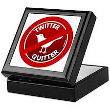 btn-twitter-quitter Keepsake Box