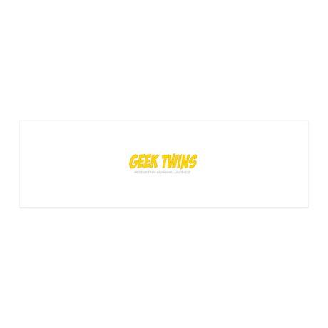 2-gt_logo_blk 36x11 Wall Decal