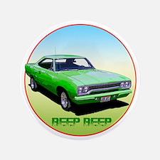 """GreenRunner-C8trans 3.5"""" Button"""