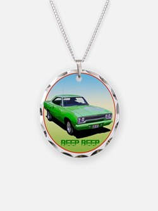 GreenRunner-C8trans Necklace
