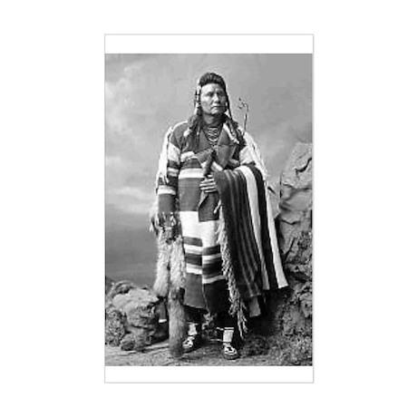 Chief Joseph Rectangle Sticker