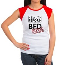 health-reform-is-a-bfdW Women's Cap Sleeve T-Shirt