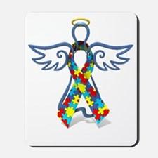 Autism Angel 10x10 Mousepad