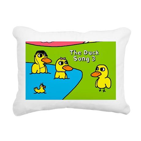 duck Rectangular Canvas Pillow