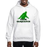TEAM SASQUATCH T-SHIRT BIGFOO Hooded Sweatshirt