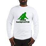 TEAM SASQUATCH T-SHIRT BIGFOO Long Sleeve T-Shirt