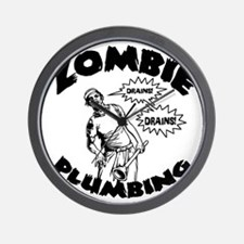 zombie-plumber-LTT Wall Clock