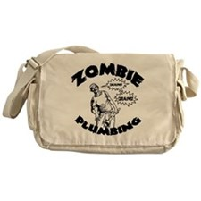 zombie-plumber-LTT Messenger Bag