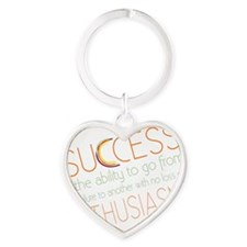 success4 Heart Keychain