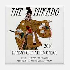 Mikado 2010 T-Shirt Tile Coaster