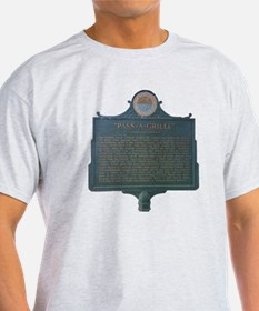 Pass-A-Grille Historic Sign T-Shirt
