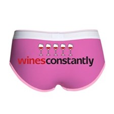 winesConstantlyTEE Women's Boy Brief