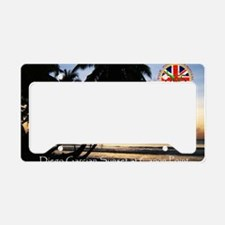 Postcard-sunset-v1.gif License Plate Holder