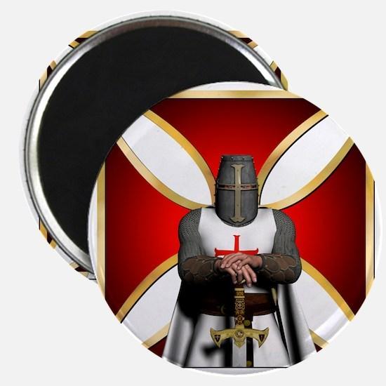 TemplarandCross Magnet