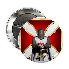 """TemplarandCross 2.25"""" Button"""