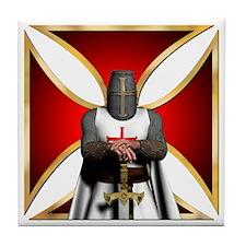 TemplarandCross Tile Coaster