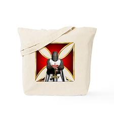 TemplarandCross Tote Bag
