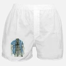 Blue shirt2 Boxer Shorts