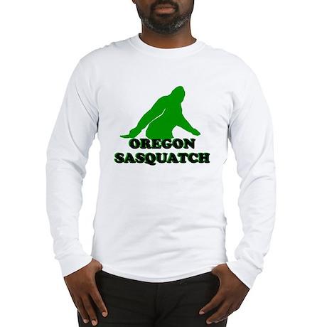 OREGON BIGFOOT OREGON SASQUAT Long Sleeve T-Shirt