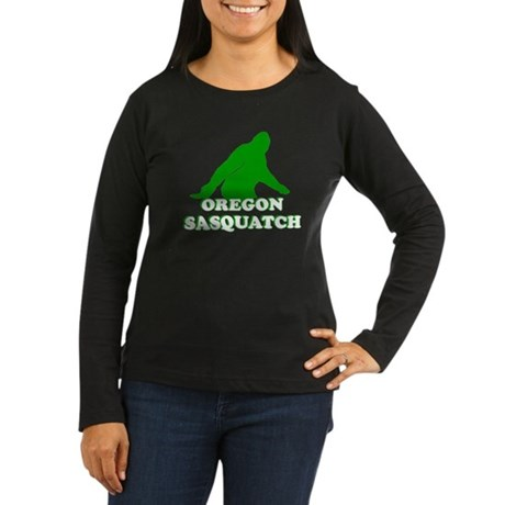 OREGON BIGFOOT OREGON SASQUAT Women's Long Sleeve