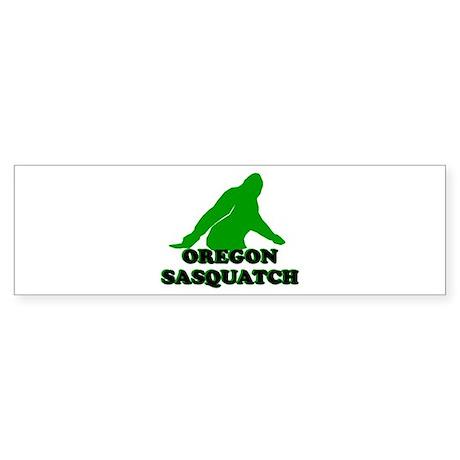 OREGON BIGFOOT OREGON SASQUAT Bumper Sticker