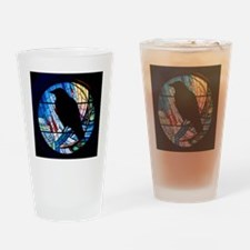 Raven Silhouette Drinking Glass