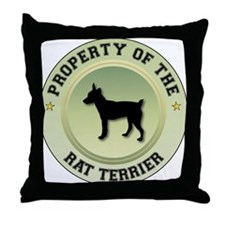 Terrier Property Throw Pillow