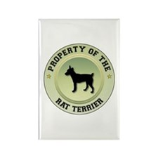 Terrier Property Rectangle Magnet