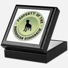 Rhodesian Property Keepsake Box