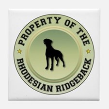 Rhodesian Property Tile Coaster