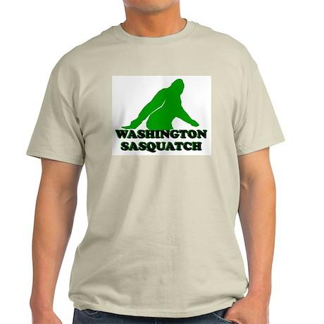 WASHINGTON SASQUATCH WASHINGT Ash Grey T-Shirt