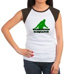 WASHINGTON SASQUATCH WASHINGT Women's Cap Sleeve T