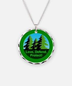 Love Defend Protect Environm Necklace