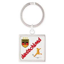 2-deutschland Square Keychain