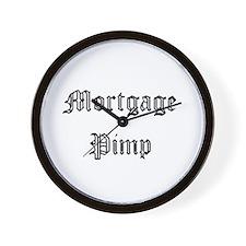 Mortgage Pimp Wall Clock