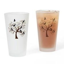 Ravens Tree Drinking Glass